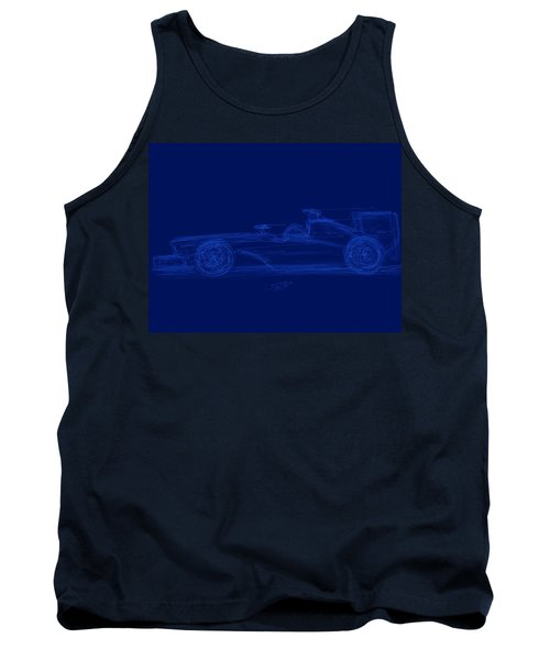 Blueprint For Speed Tank Top