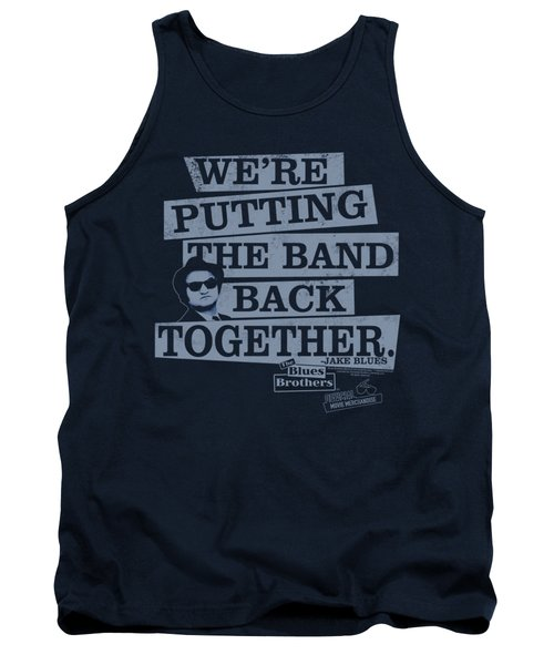 Blues Brothers - Band Back Tank Top