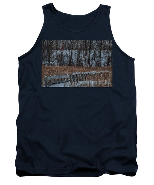Tank Top featuring the photograph Boardwalk Series No2 by Bianca Nadeau