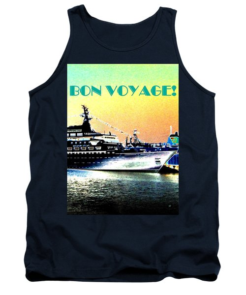 Bon Voyage Tank Top by Will Borden