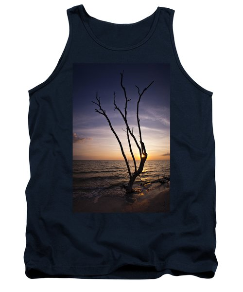 Tank Top featuring the photograph Bonita Beach Tree by Bradley R Youngberg
