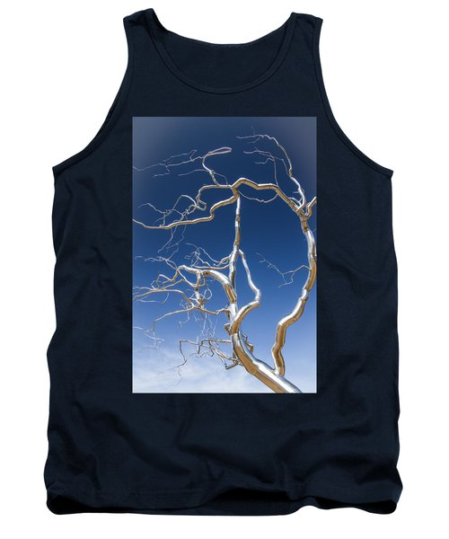Branches Of Silver Tank Top