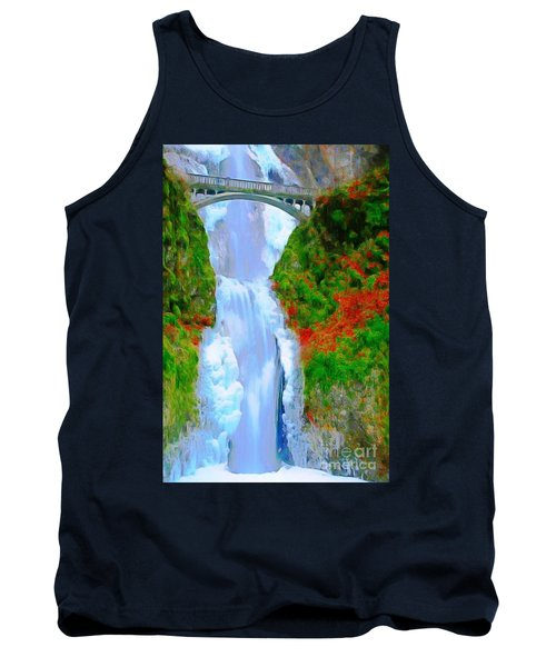 Bridge Over Beautiful Water Tank Top