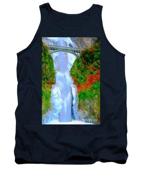 Bridge Over Beautiful Water Tank Top