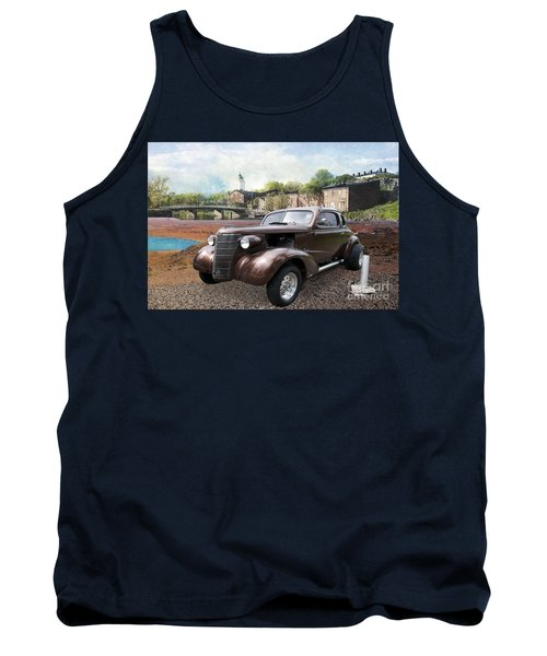 Brown Classic Collector Tank Top by Liane Wright
