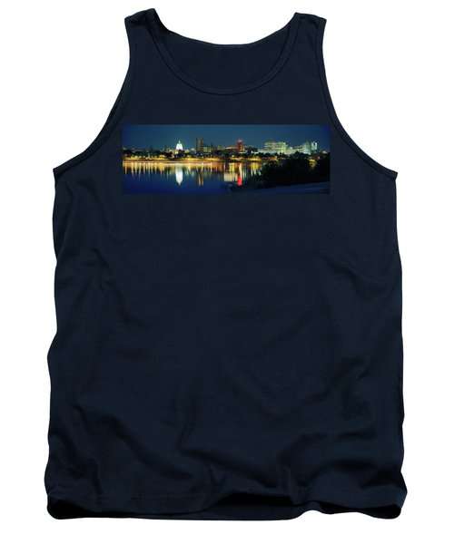 Buildings At The Waterfront, State Tank Top