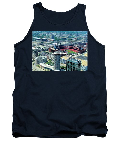 Busch Stadium From The Top Of The Arch Tank Top