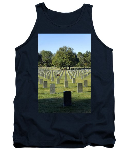 Bushnell National Cemetary Tank Top