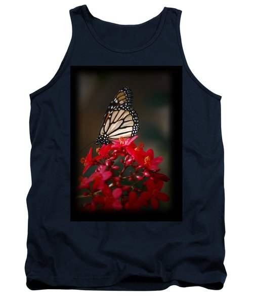 Tank Top featuring the photograph Butterfly 6 by Leticia Latocki