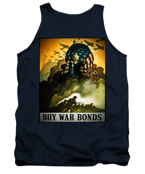 Buy War Bonds Tank Top by Robert Geary
