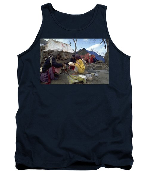 Camping In Iraq Tank Top
