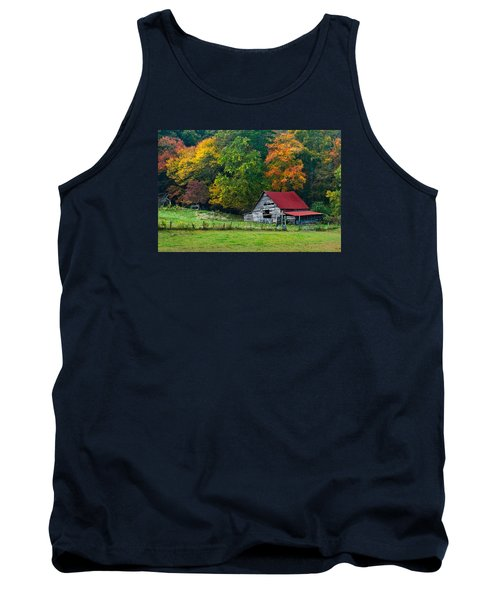 Candy Mountain Tank Top by Debra and Dave Vanderlaan