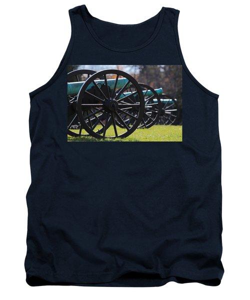 Cannons Of Manassas Battlefield Tank Top