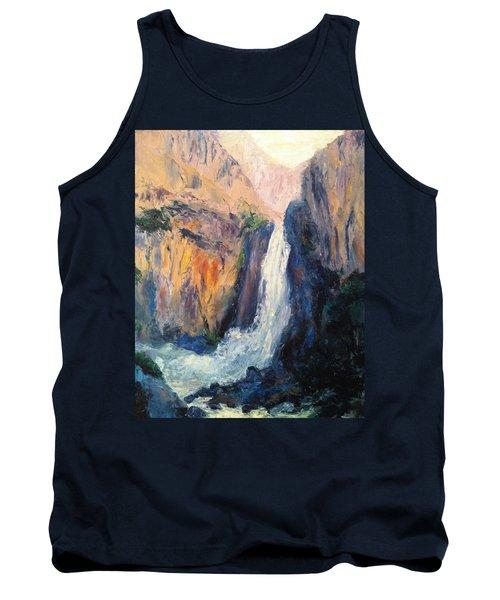 Canyon Blues Tank Top by Gail Kirtz