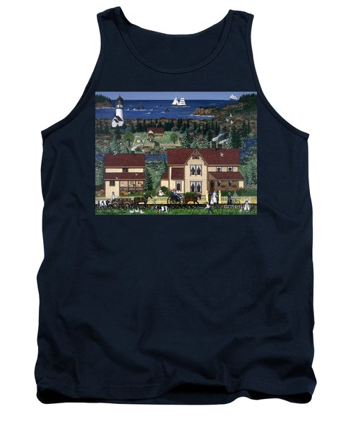 Tank Top featuring the painting Cape Blanco by Jennifer Lake