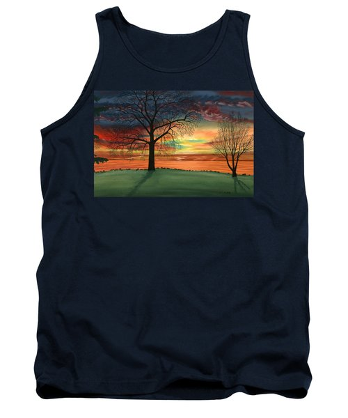 Carla's Sunrise Tank Top