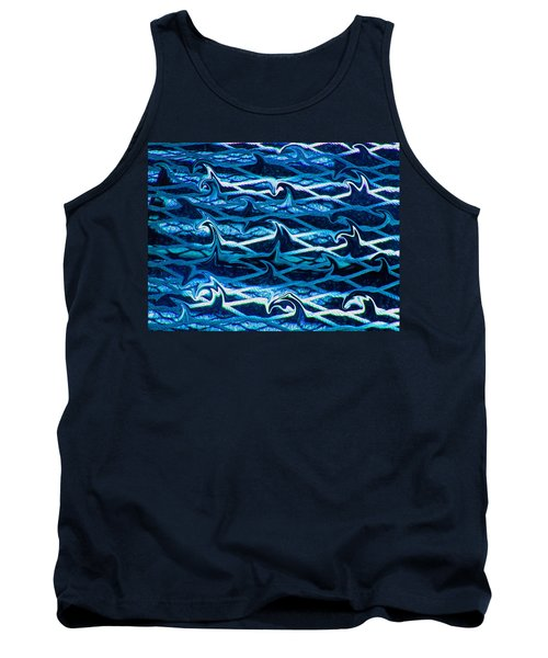 Tank Top featuring the photograph Cast Your Net Upon The Waters by Stephanie Grant