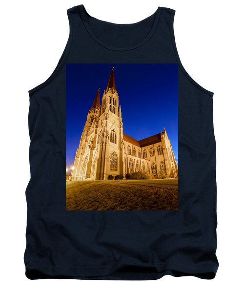 Morning At The Cathedral Of St Helena Tank Top
