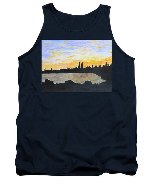 Central Park In Newyork Tank Top by Sonali Gangane