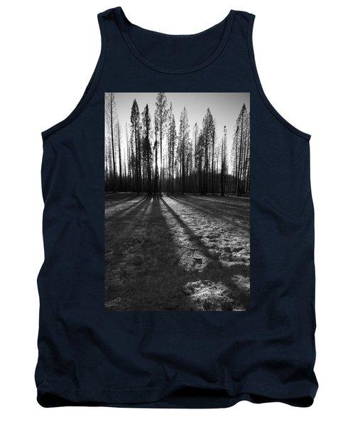 Charred Silence - Yosemite Rm Fire 2013 Tank Top