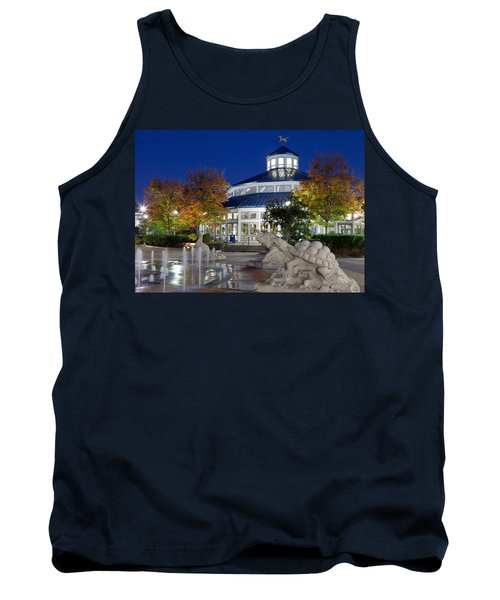 Chattanooga Park At Night Tank Top