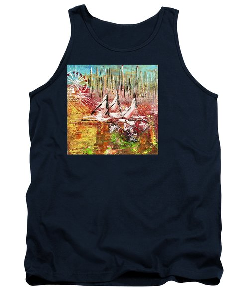 Chicago At It's Best  Tank Top by George Riney