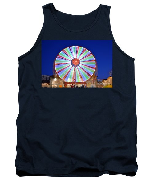 Tank Top featuring the photograph Christmas Ferris Wheel by George Atsametakis