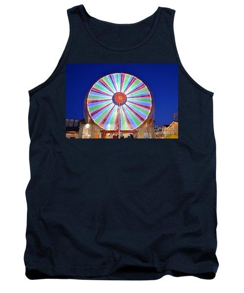 Christmas Ferris Wheel Tank Top