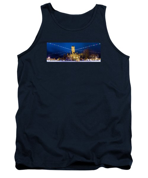 Christmas On The Square Tank Top