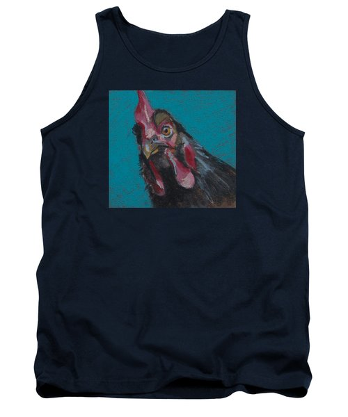 Tank Top featuring the painting Chuck by Pattie Wall