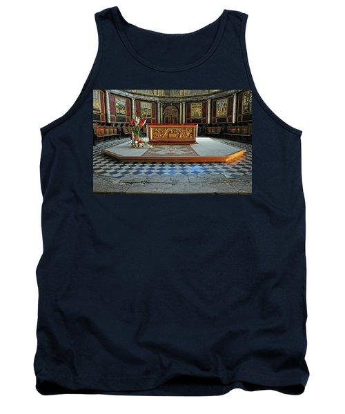 Tank Top featuring the photograph Church Alter Provence France by Dave Mills