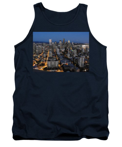 Tank Top featuring the photograph City Lights by Natalie Ortiz