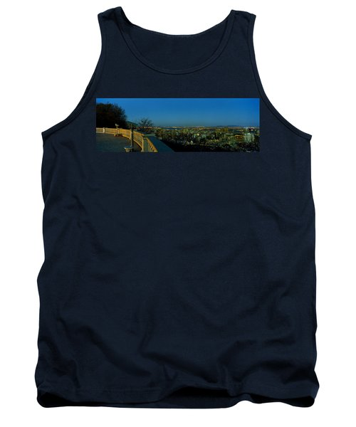 City Viewed From An Observation Point Tank Top