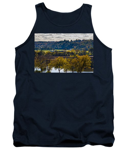 Clarksville Railroad Bridge Tank Top