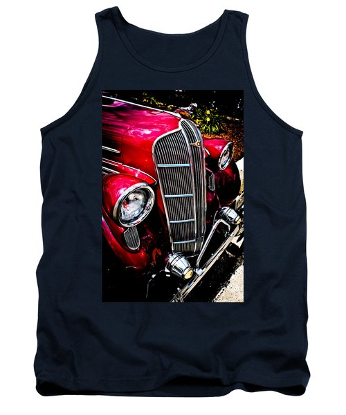 Tank Top featuring the photograph Classic Dodge Brothers Sedan by Joann Copeland-Paul