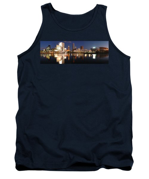 Cleveland Skyline At Dusk Tank Top