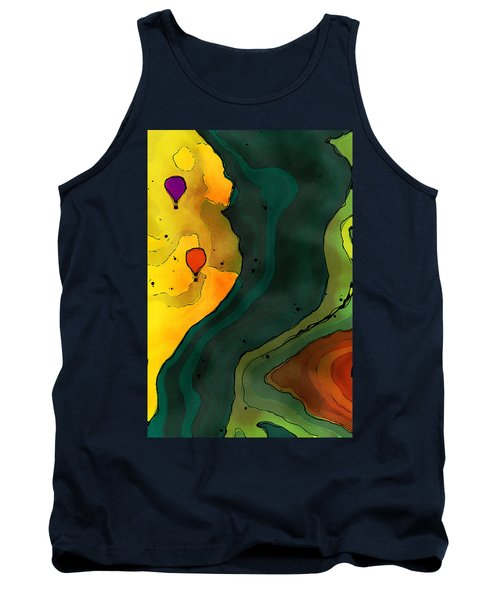 Cliff View Tank Top