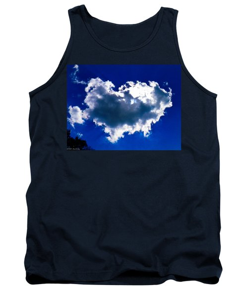 Cloud Tank Top by Nick Kirby