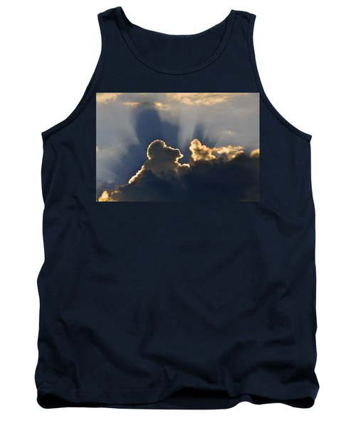 Tank Top featuring the photograph Cloud Shadows by Charlotte Schafer