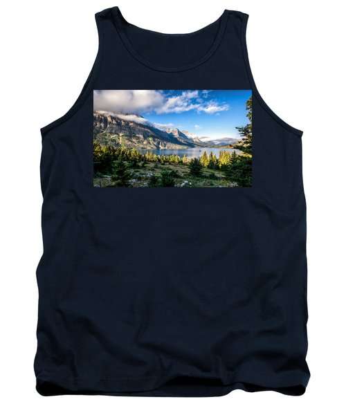 Clouds Roll In Tank Top