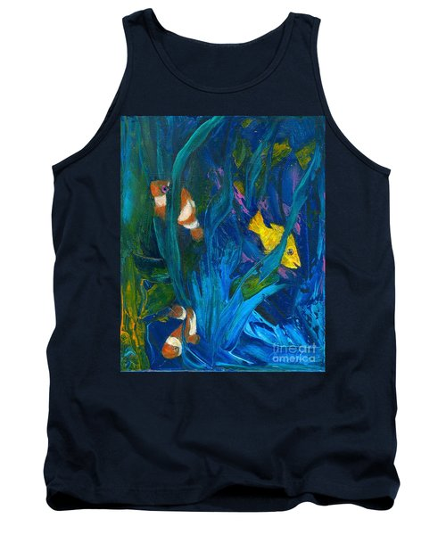 Clowning Around Tank Top by Denise Hoag