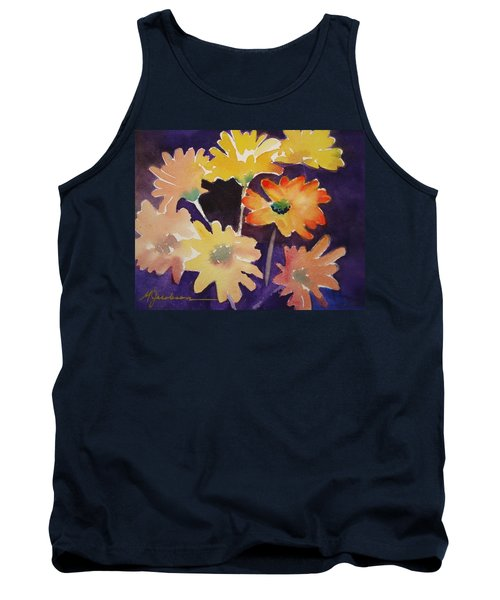 Color And Whimsy Tank Top by Marilyn Jacobson