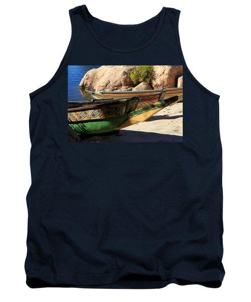 Colorul Canoe Tank Top