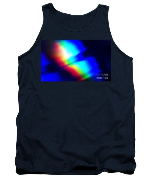 Tank Top featuring the photograph Coloured Light by Martin Howard