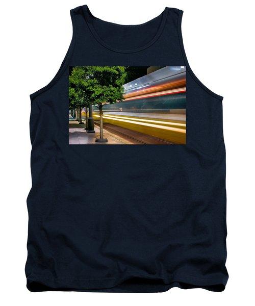 Dallas Commuter Train 052214 Tank Top