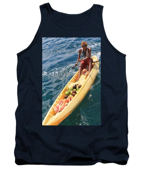 Conches And Coconuts Tank Top