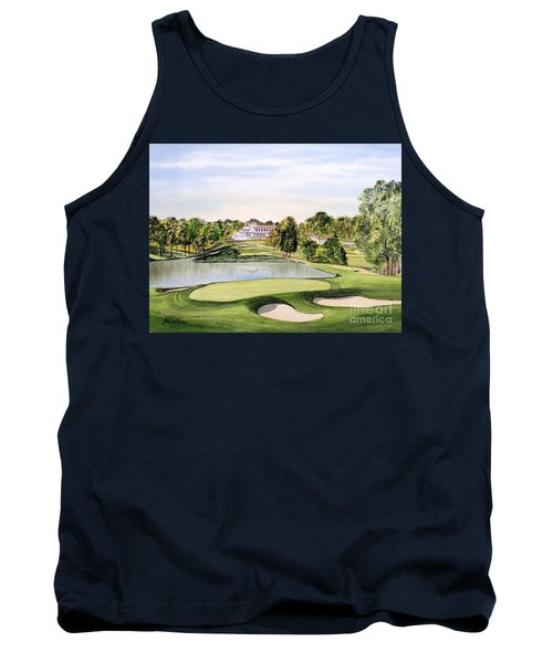 Congressional Golf Course 10th Hole Tank Top by Bill Holkham