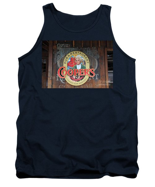 Coopers Pub And Restaurant On Monterey Cannery Row California 5d24779 Tank Top