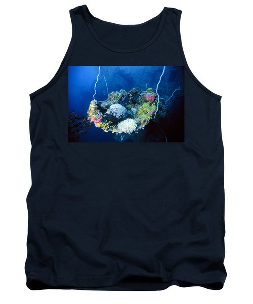 Corals On Ship Wreck Tank Top