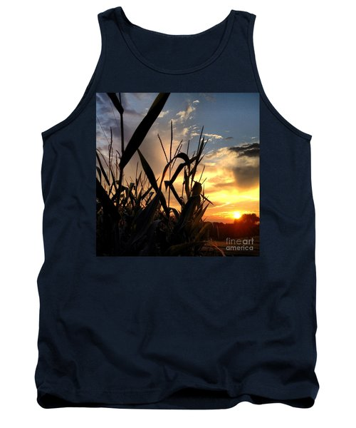 Cornfield Sundown Tank Top